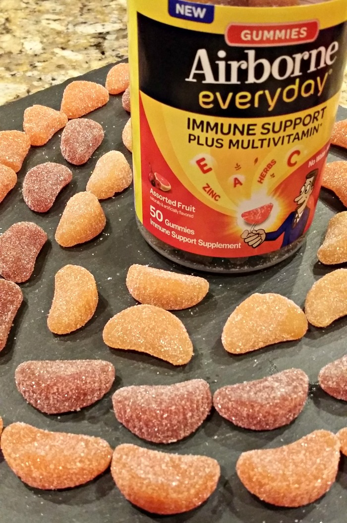 Airborne Everyday Gummy Vitamins - thefitfork.com