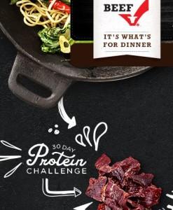 protein challenge graphic