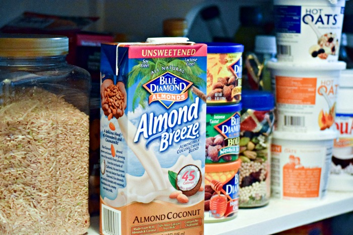 I appreciate how I can keep shelf-stable Almond Breeze in the pantry, on hand for when cravings strike!