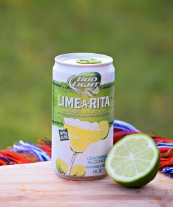 Bud Light's Lime-A-Rita is so refreshing and convenient in a can!