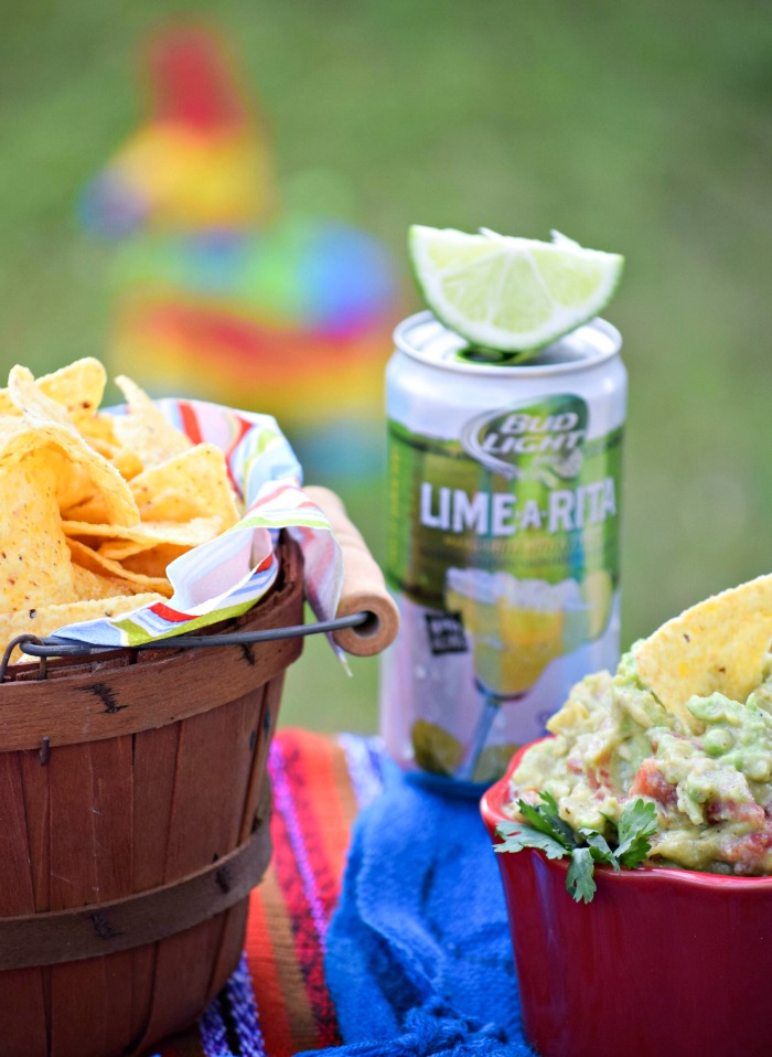 Spring is the perfect time for a Rotel Rockin' Guac and Bud Light Lime-A-Rita fiesta!
