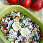 Eggs-celent! Cotija Corn and Avocado Egg Salad