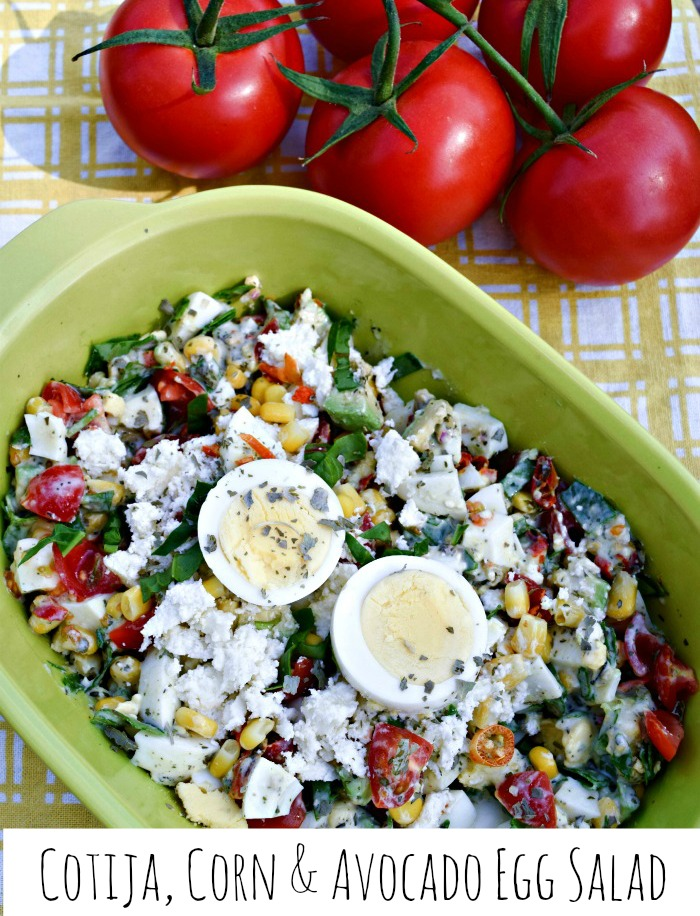 Southwester flavors add tons of fiesta flavor to this untraditional egg salad from thefitfork.com.