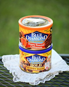 Honey Dijon and Honey Cinnamon Almonds from Blue Diamond