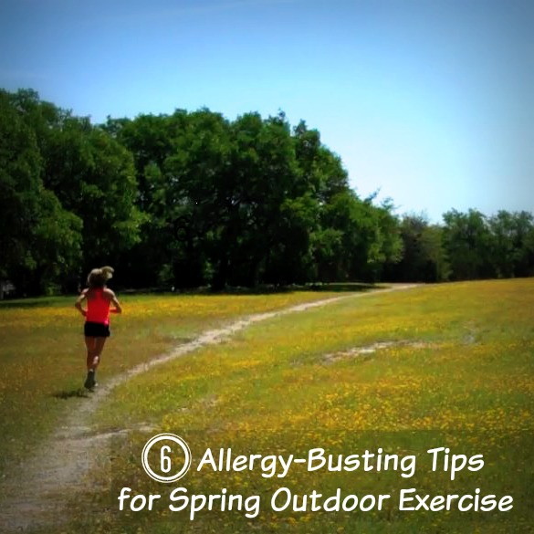 Spring Season Allergy Tips for Exercise and Running
