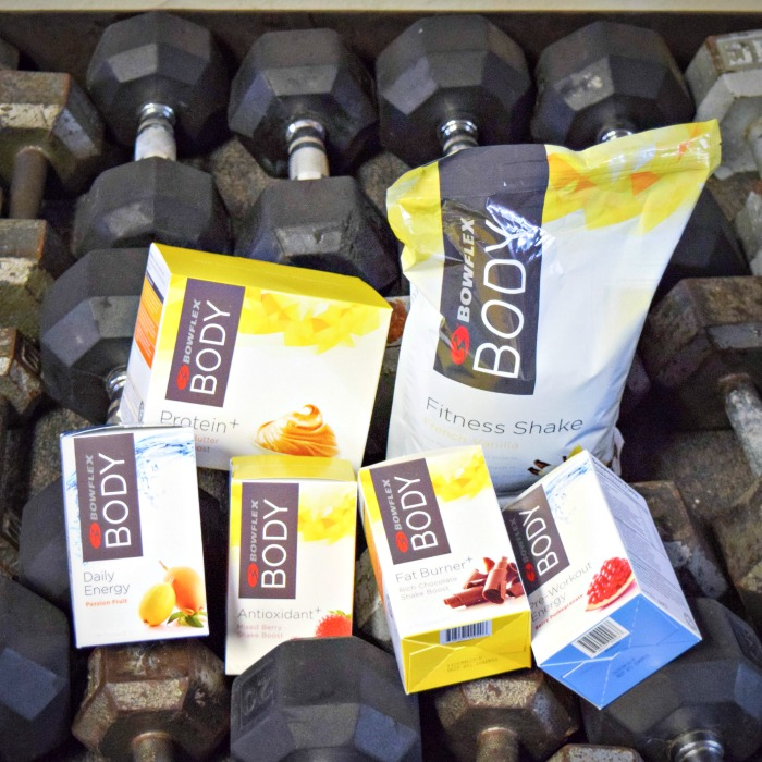 BowFlex Body Fitness Shake and Energy Products