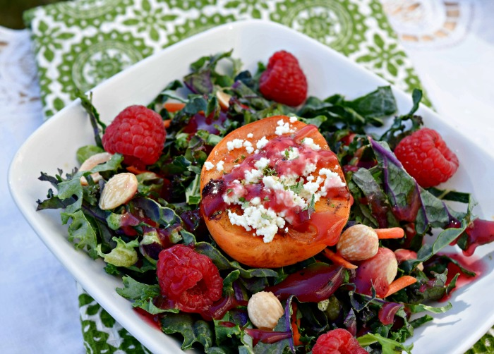 Grilling apricots intensifies their summer sweet flavor -- try adding to ice cream or this delicious and nutritious kale salad.