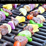 Last Minute Ideas for Grill – Burgers, Bananas & More Recipes!