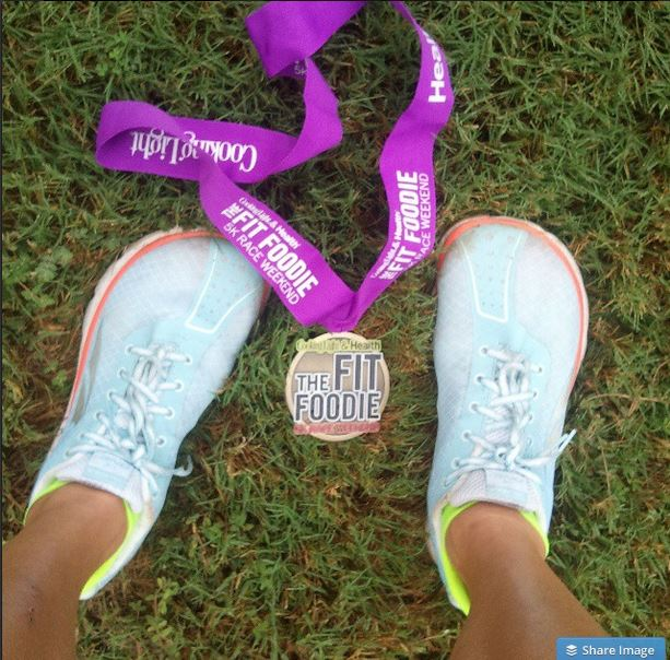 I ran this race in 2014 and it was so fun! Oh, and did I mention that I WON?! Fist Bump!
