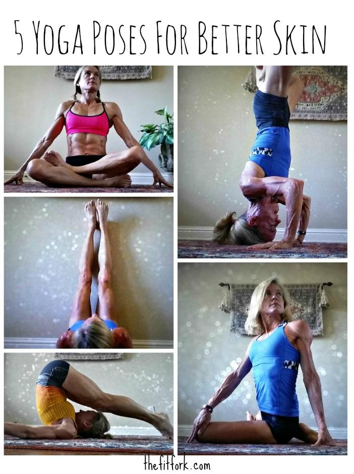 5 Yoga Poses for Better Skin