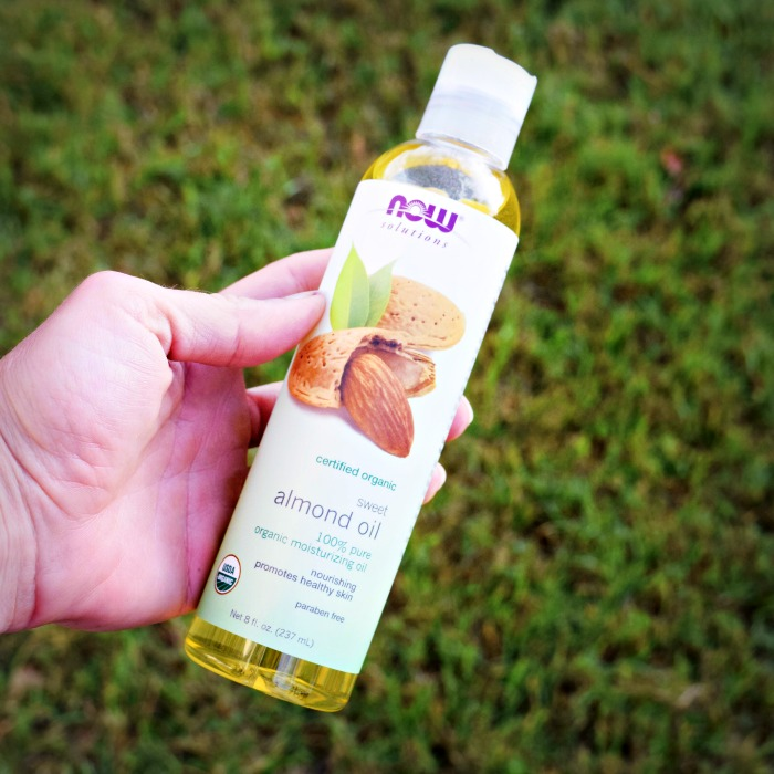 Now Solutions Almond Oil -- great for skin, hair and even lessening dark circles under eyes!