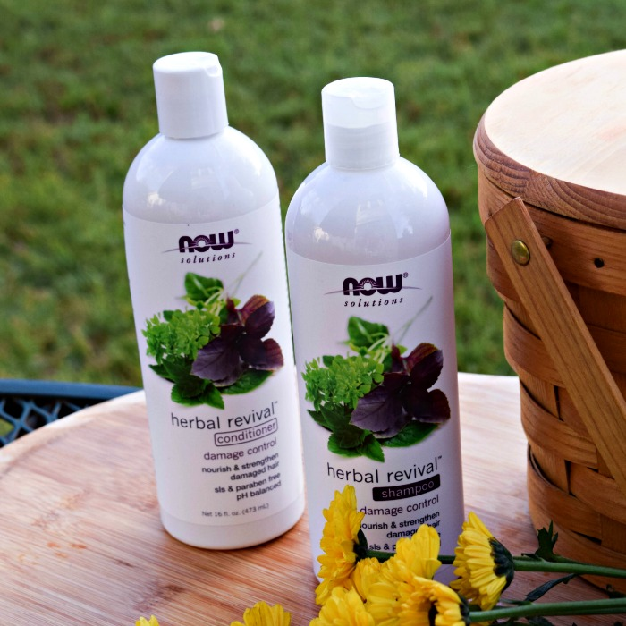 Now Solutions Herbal Revival Shampoo and Conditioner