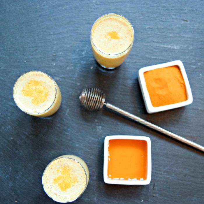 Turmeric Honey Almond Milk