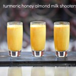 Turmeric Honey Almond Milk Shooters help reduce inflammation!
