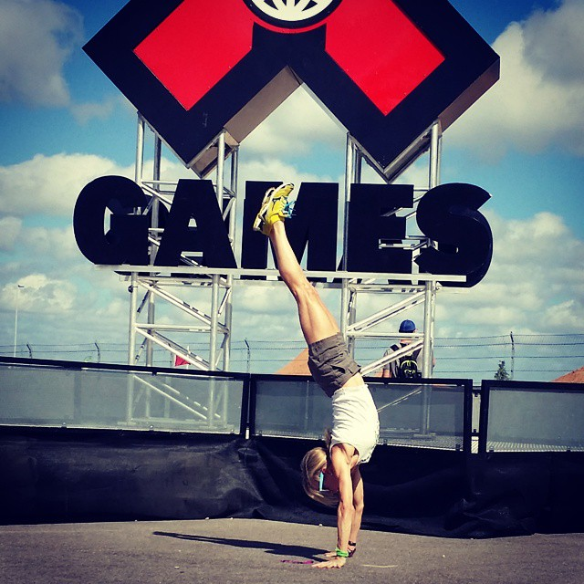 Jennifer Fisher xgames handstand