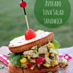 Southwestern Avocado Tuna Salad & Sandwich #TunaStrong