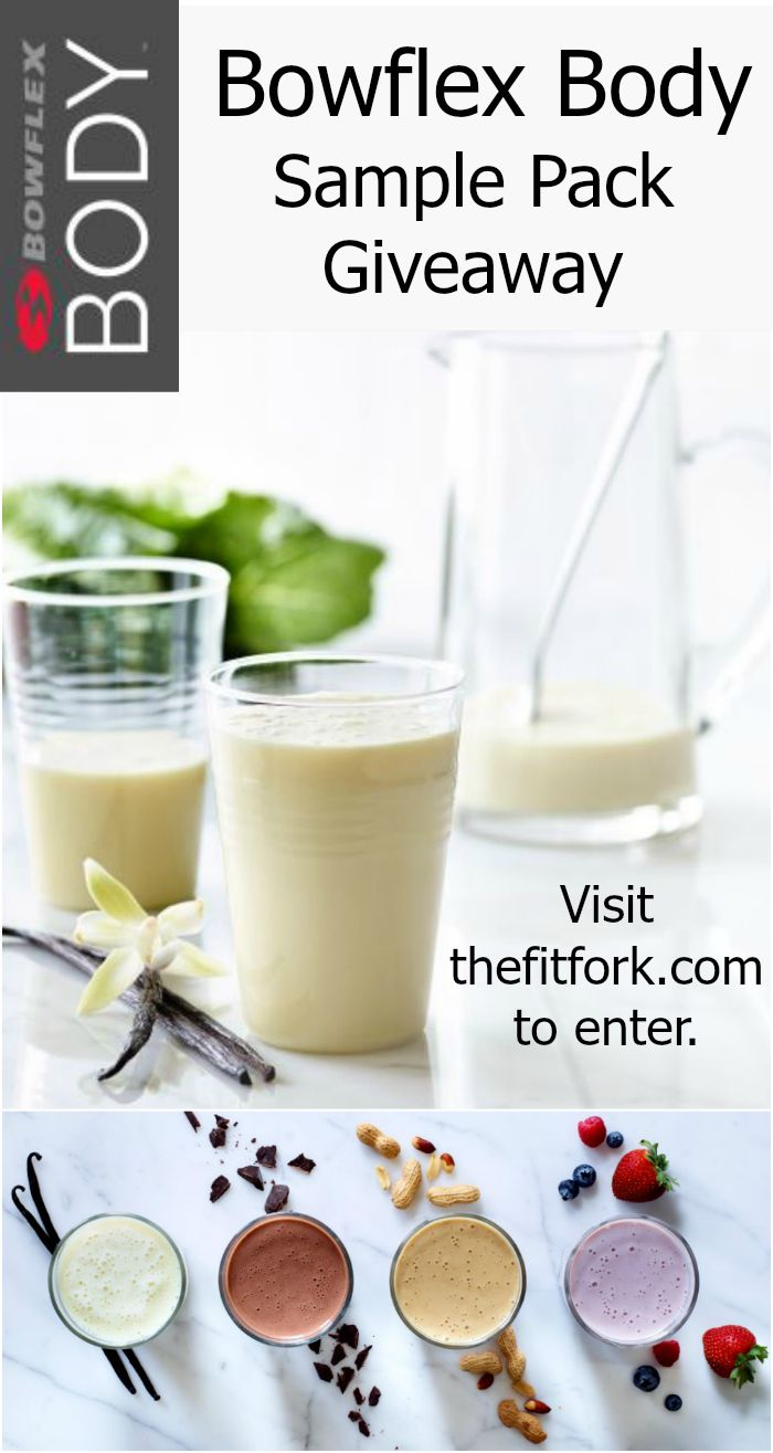 Bowflex Body Fitness Shakes Giveaway at TheFitFork.com