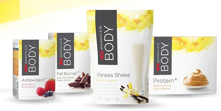 Bowflex Body Fitness Shake Protein Powder and Boosters
