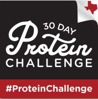 protein challenge badge