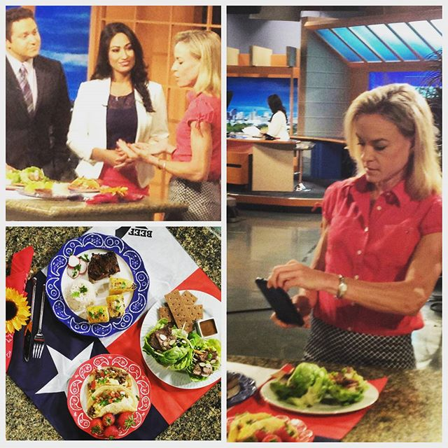 Sharing ways to get more protein at breakfast, lunch and dinner on KENS5 Great Day San Antonio.