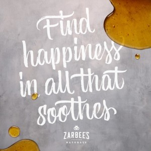 Zarbee's Naturals - Find happiness in all that soothes.