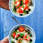 Watermelon Coconut Rice Bowls - CotterCrunch.com