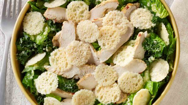 Power Kale and Chicken Salad