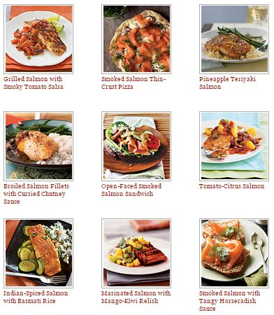 Salmon Recipes from Cooking Light are easy and packed with important nutrients.