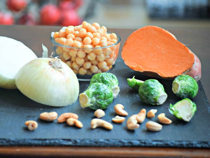 Ingredients for Fall Veggie curry