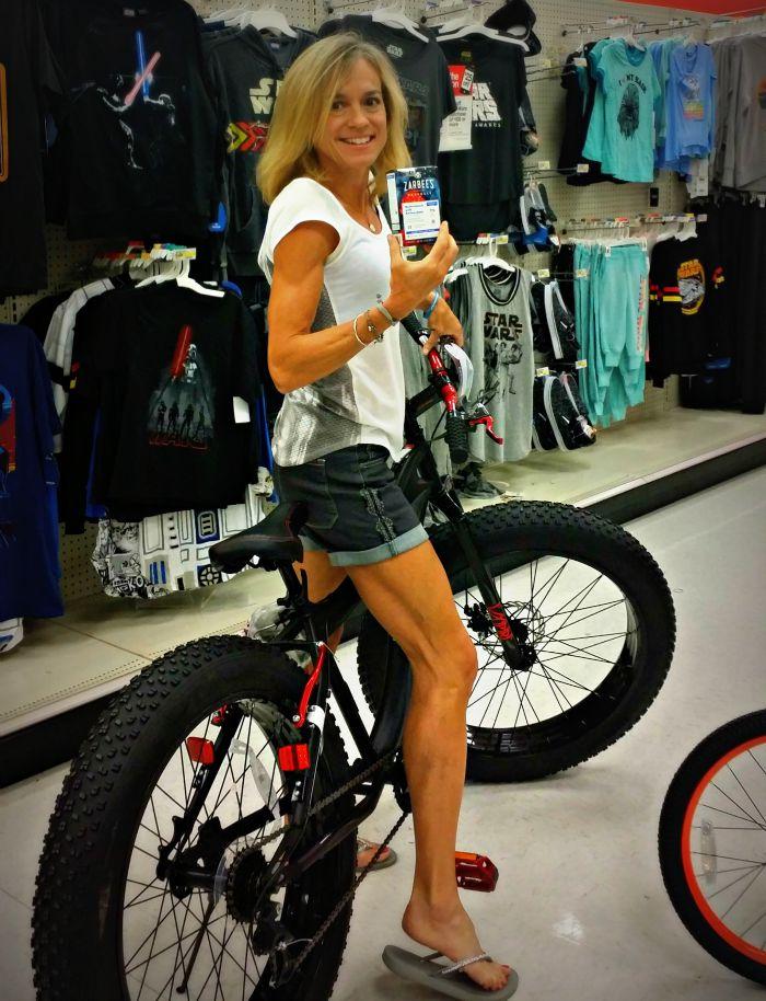 jennifer target bike arbees