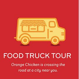 Panda Express Orange Chicken Food Truck