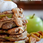 Apple Ring Protein Pancakes