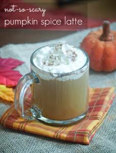 Not So Scary Pumpkin Spice Latte