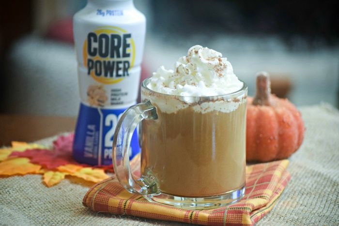 Core Power Pumpkin Spice Latte