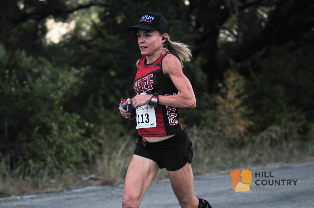 Jennifer Fisher winner 2015 Hill Country Half Marathon
