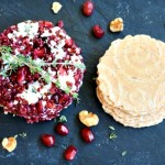 Blue Cheese Pomegranate and Quinoa Caviar
