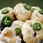 Jalapeno Havarti Cheese Bombs + Movie Night Entertaining #UnlockYourChef