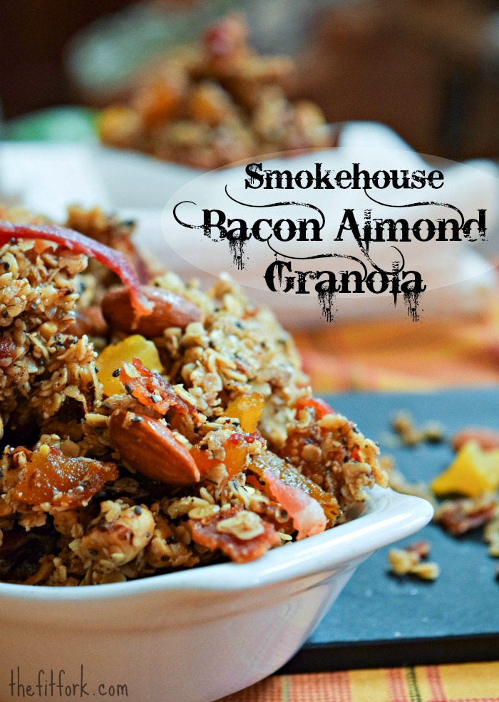 Smokehouse Bacon Almond Granola