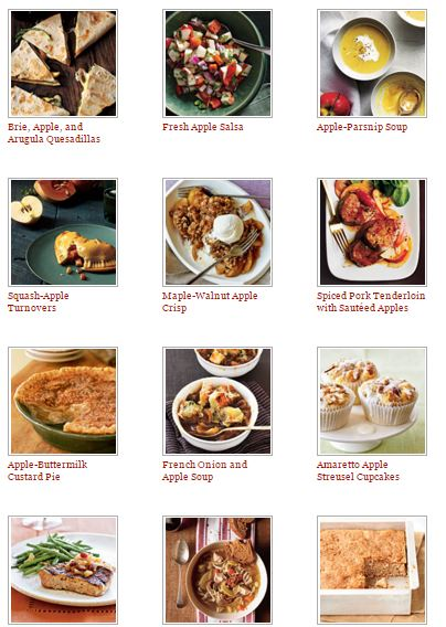 Best Apple Recipes - Cooking Light