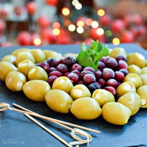 Holiday Olive Tray