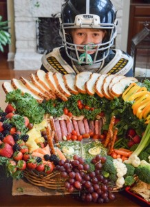 Healthy Football Snack Stadium