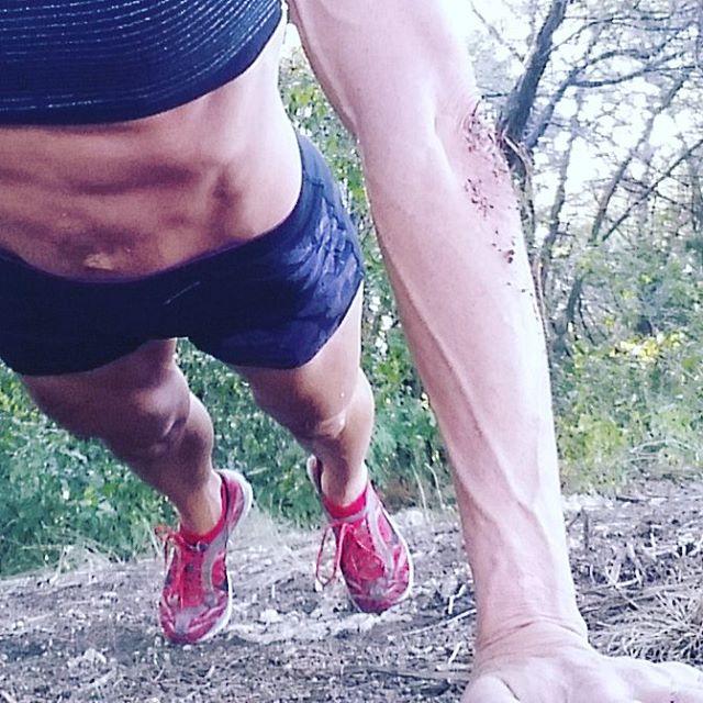 Jennifer Fisher plank outside