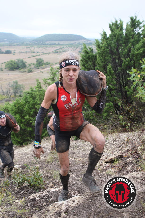 Spartan Beast Dallas Sand Bag Carry