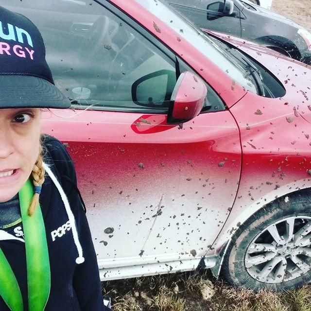 Stuck in mud at Spartan Beast Dallas