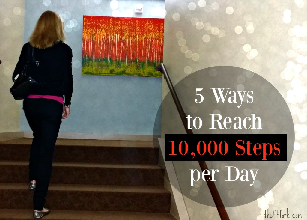 5 Ways to Reach 10,000 Steps per Day