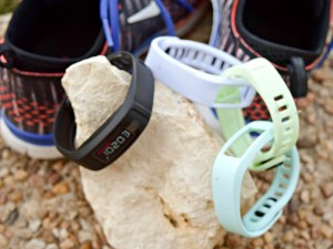 Garmin vivofit 2 can be customized to fit your mood with a variety of spare bands.