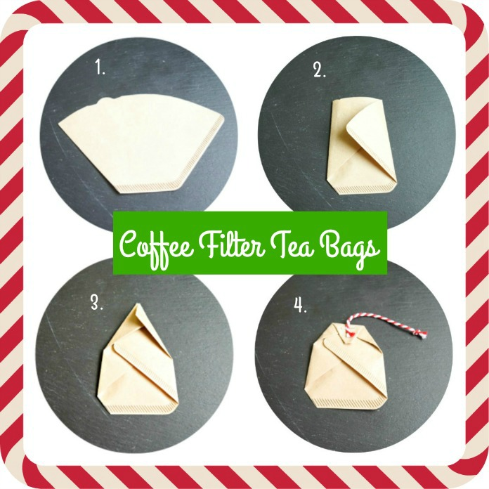 How To Make Tea Bags out of Coffee Fliters