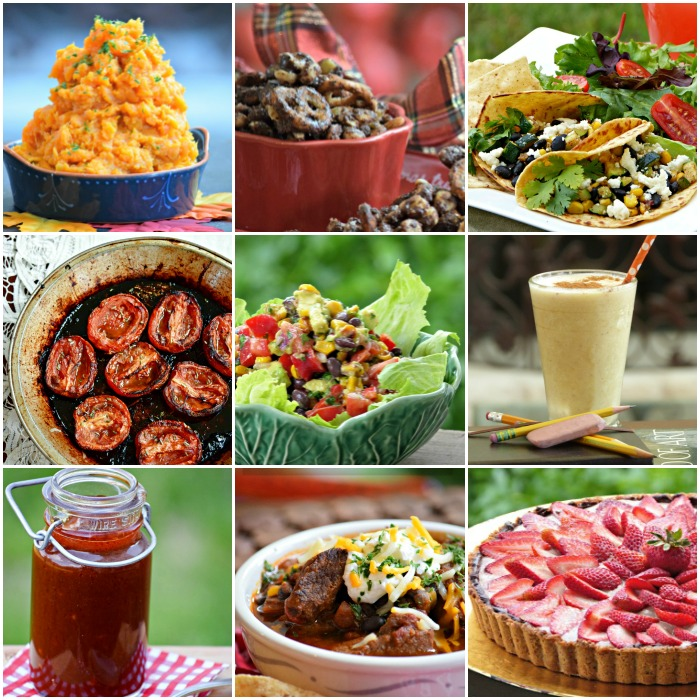 Top Healthy Recipe Pins from TheFitFork.com