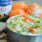 Best Ever Chicken and Rice Soup with Instantly Fresh Herbs