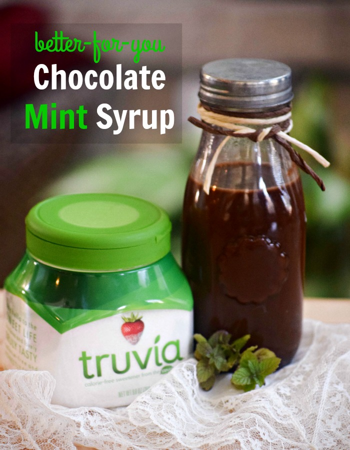 Better for You Chocolate mint syrup